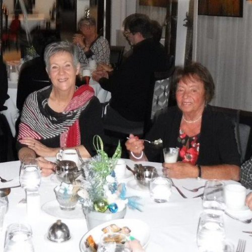 Virginia Turcotte (G. Turcotte), Danielle Thérien (B. Baril), Huguette Bolduc (J. Lemay), Bernard Baril