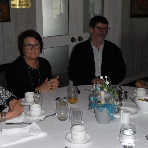 Madeleine Vignola (G. Hudon) Anne Richard (J. Beaudoin), Jean Beaudoin, Jacynthe Bachand (R. Benoit)