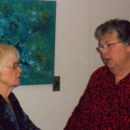 Cheryl Murray and Linda Hartl