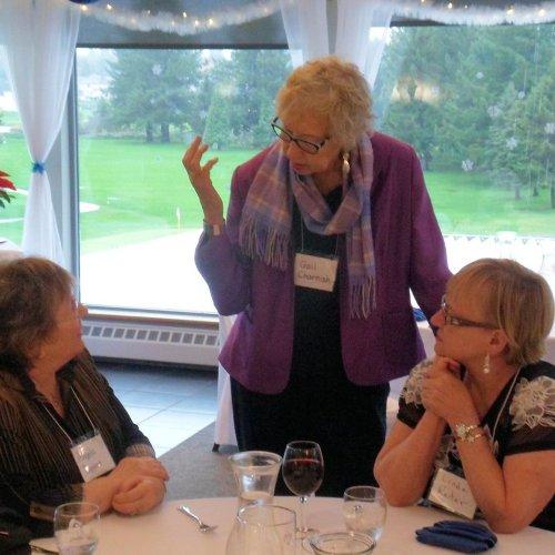 Angela Taggart, Gail Charnish, Linda Reiter