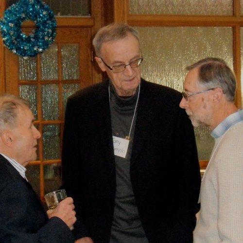 Frank Reiter, Tony Charnish, Bill Hallum