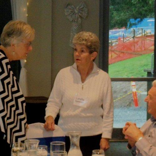 Gail Charnish, Loretta Spooner, John Bosher