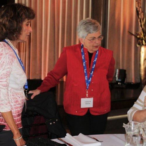 Barbara Pollard, Madhuri Ramkrishnan, Carolyn Mason, Pat Massier