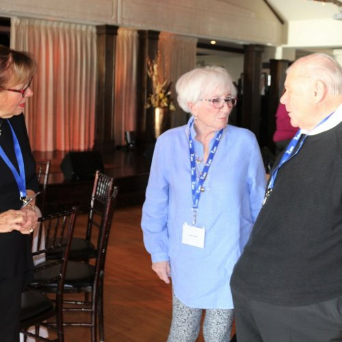 Lorraine Human, Anne Warne, Ed Wilk