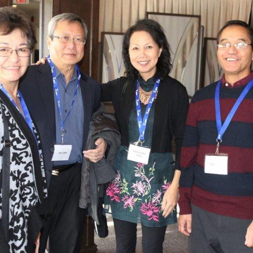 Tessie Lopez, Wei Chin, Madelaine Chin, Tony Lopez
